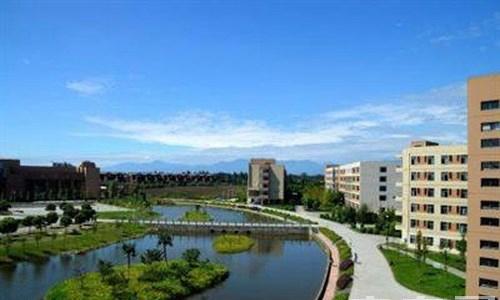 内江铁路机械学校成都校区(郫县安德镇)俯瞰校园